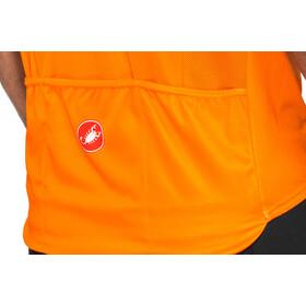 Castelli A Bloc FZ Jersey Herren orange